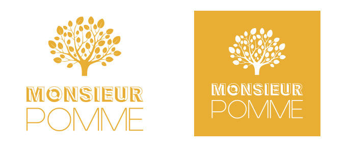 logo monsieur pomme jus