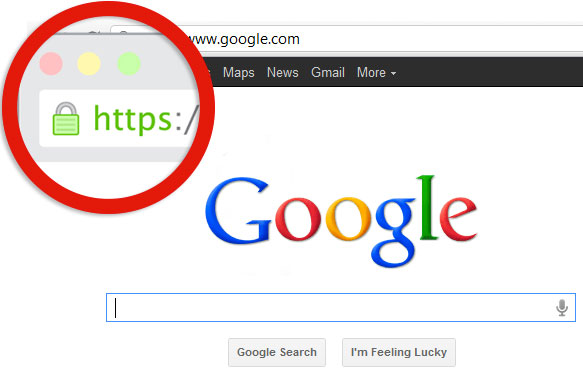 https ssl google referencement