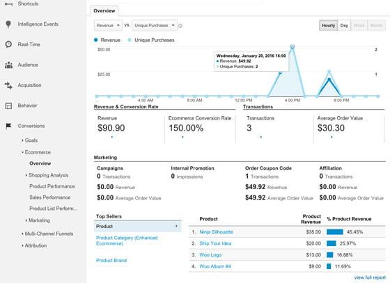 audit google analytics