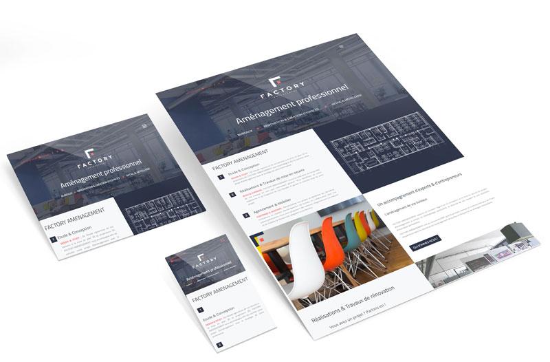 creation site web startup