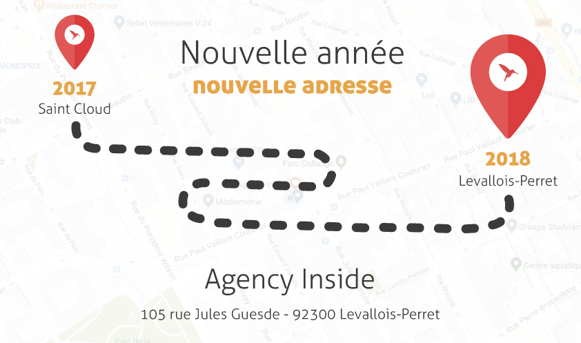carte de voeux agency inside 2018