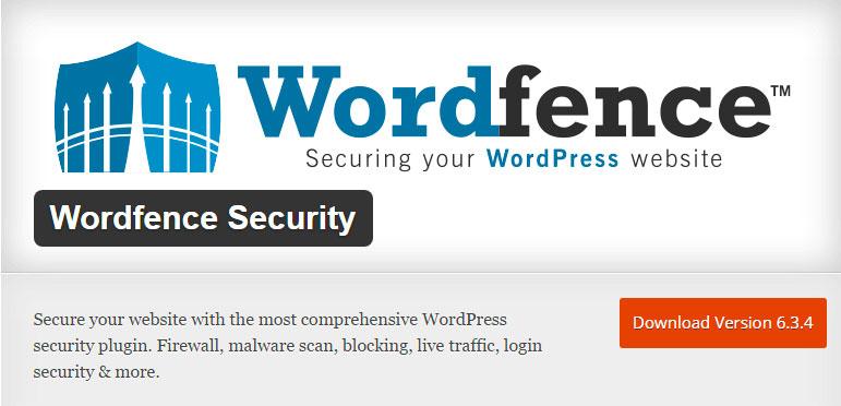 Wordpress Wordfence securite plugin